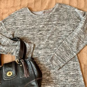 Lou&Grey Stretch LS Sweater T-Dress Sz. M So Cozy!